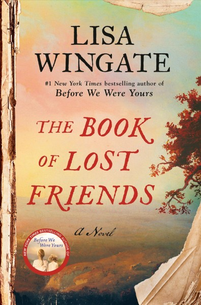 Cover image of The Book of Lost Friends by Lisa Wingate