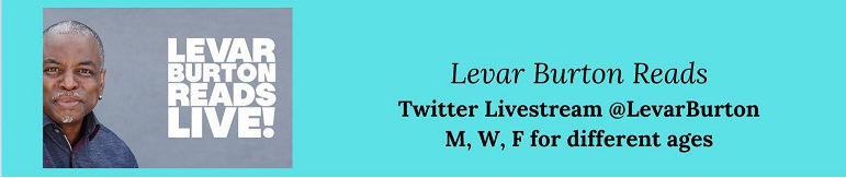 LeVar Burton Reads Live on Twitter